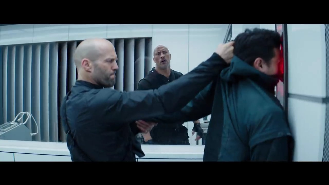 Hobbs and Shaw Face Scanner Scene
