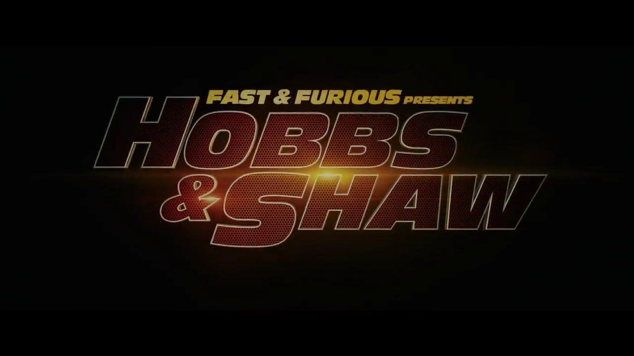 Hobbs & Shaw Title Card
