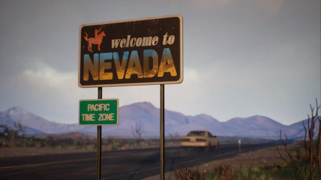 Life is Strange 2 Nevada Sign
