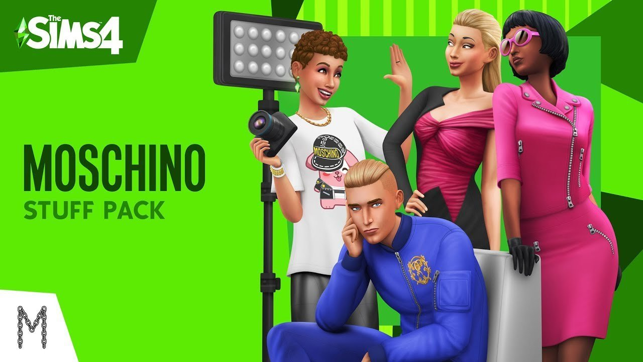 Moschino Stuff Pack The Sims 4
