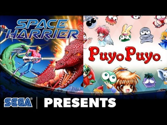 SEGA Ages Space Harrier Puyo Puyo