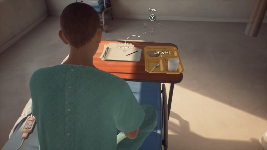 Sean in Hospital Bed Life is Strange 2