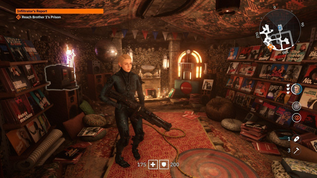 Wolfenstein Youngblood Catacombs Base