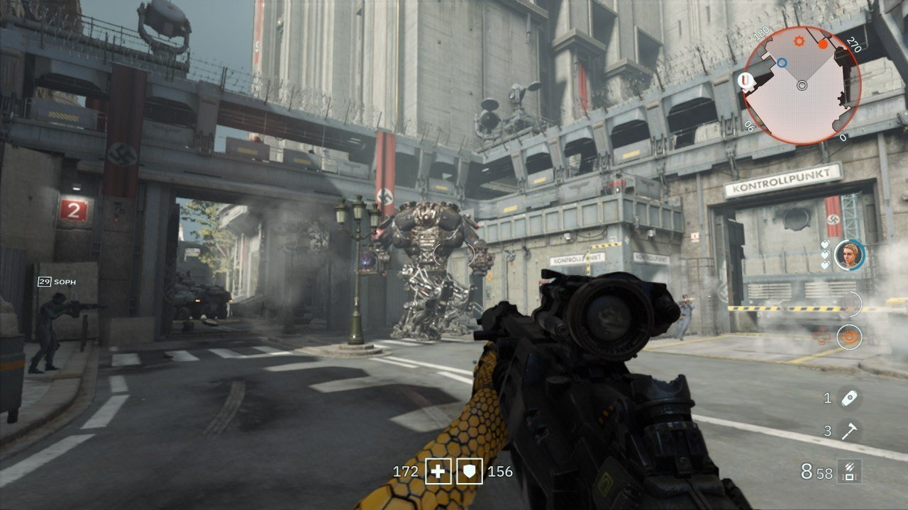Wolfenstein Youngblood Brother Entrance