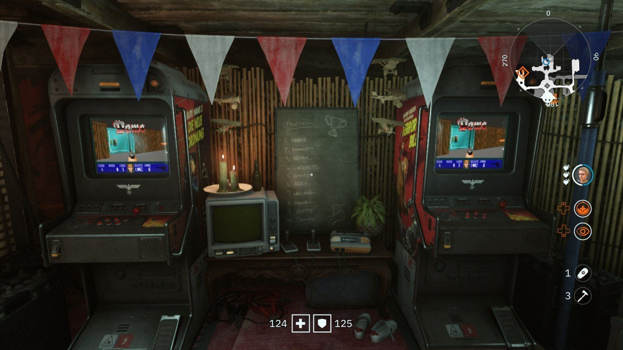 Wolfenstein Youngblood Classic Easter Egg