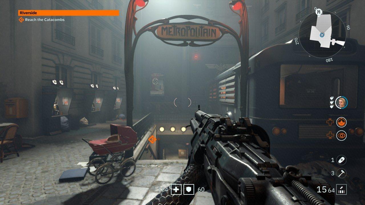 Wolfenstein Youngblood Metro Entrance