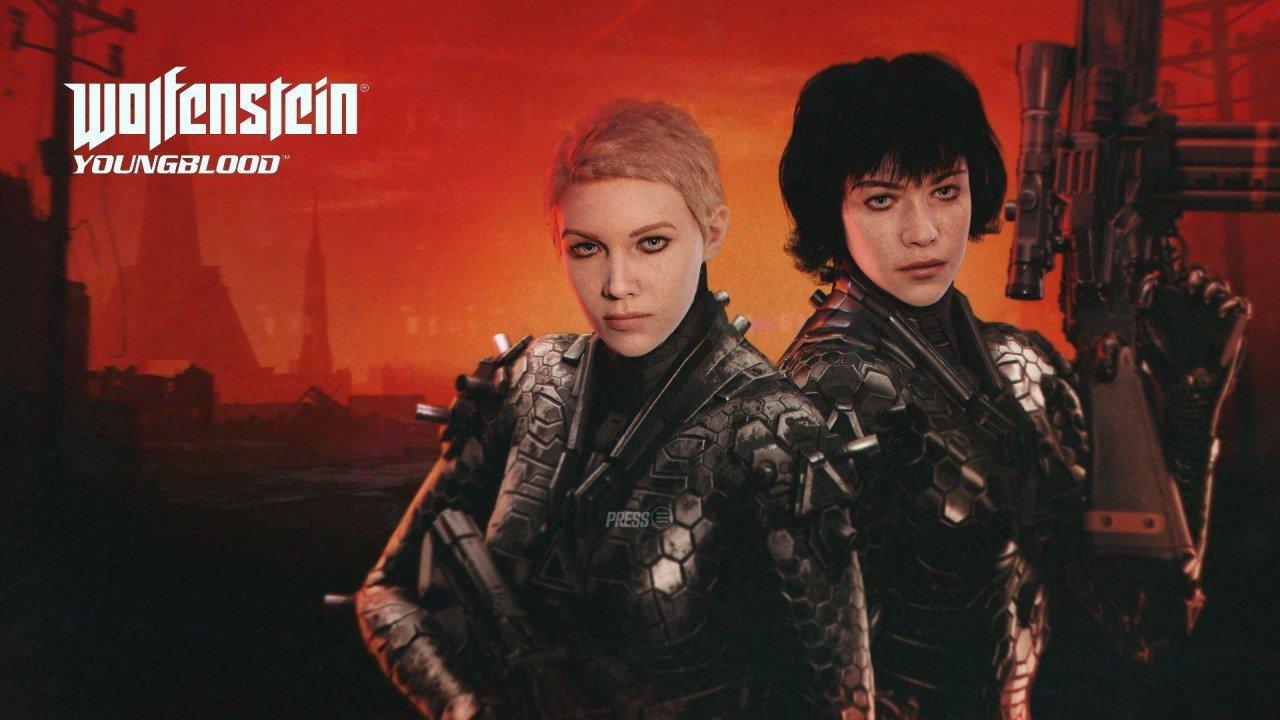 Wolfenstein Youngblood Title Screen