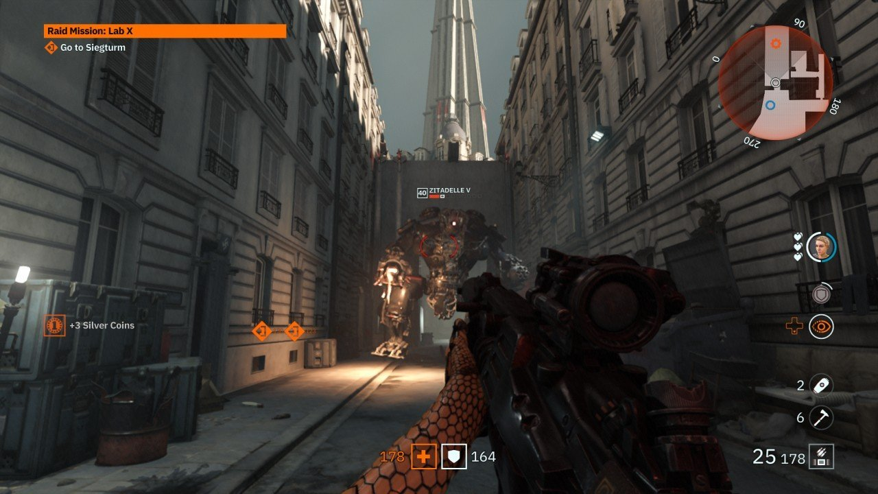 Wolfenstein Youngblood Zitadelle