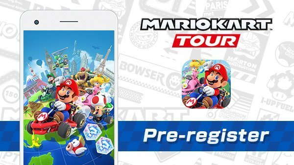 Pre-registration is open for Mario Kart Tour that releases on 25th of September