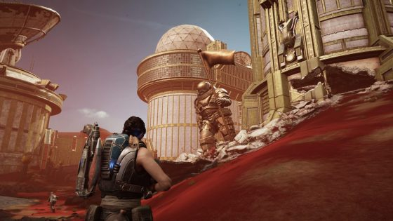 Gears of War 5 Red Planet