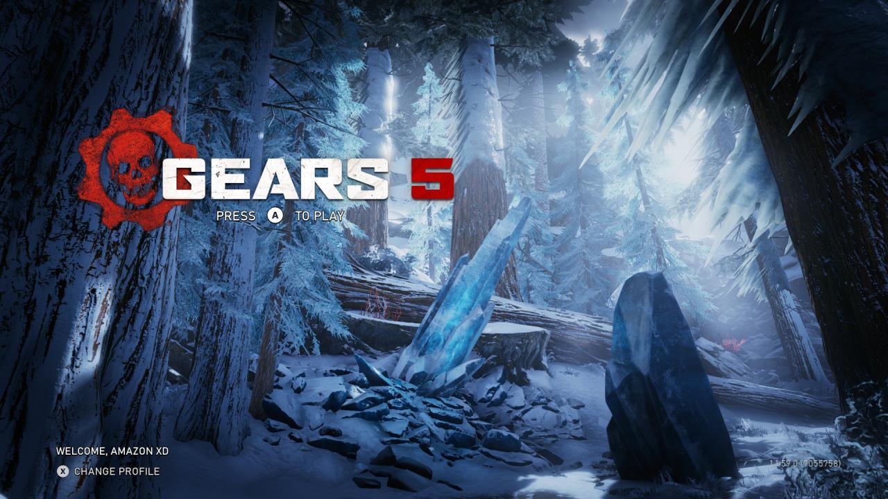 Gears of War 5 Title Screen