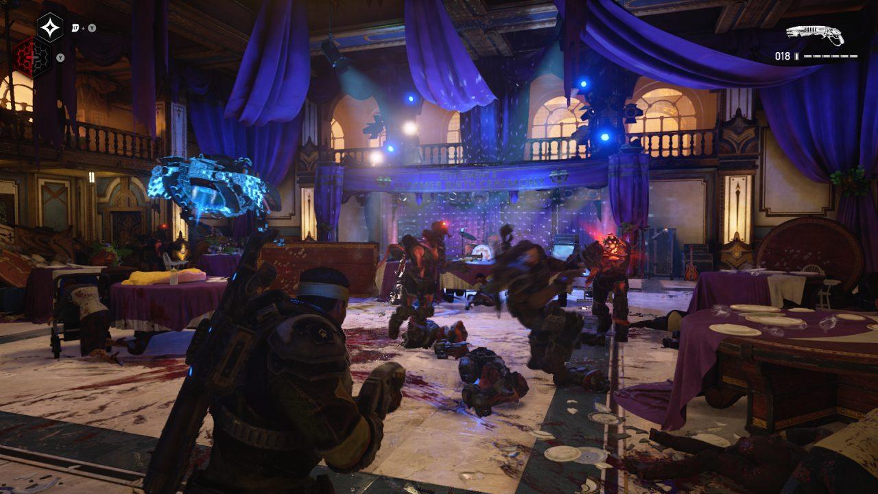 Gears 5 Ballroom
