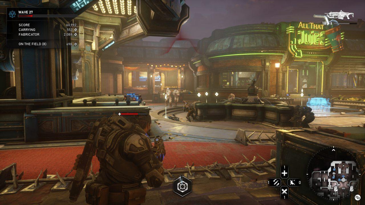 Gears of War 5 Horde Gameplay