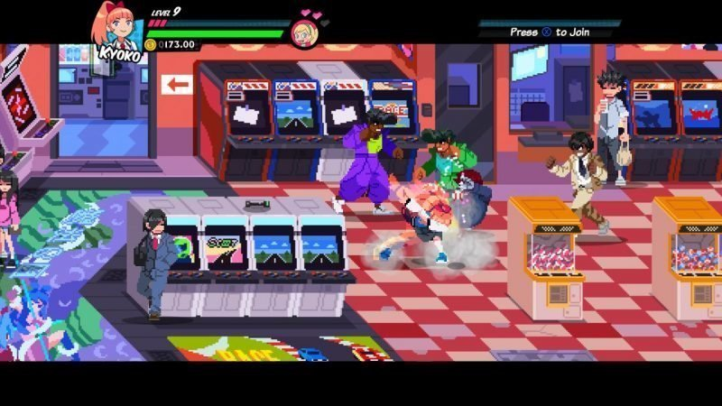 River City Girls Arcade Level