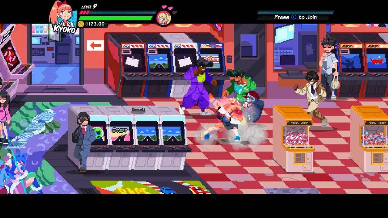 River City Girls Arcade Level