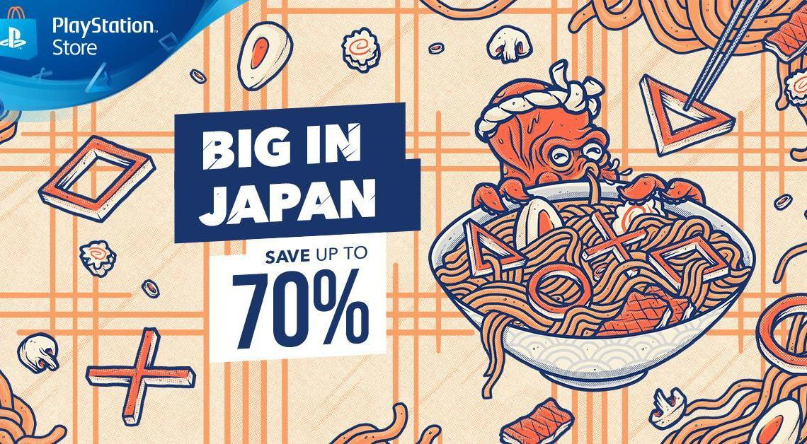 Big in Japan sale on the PlayStation Store