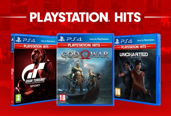 God of War, Uncharted Lost Legacy and Gran Turismo Sport are available on October 4 as part of PlayStation Hits