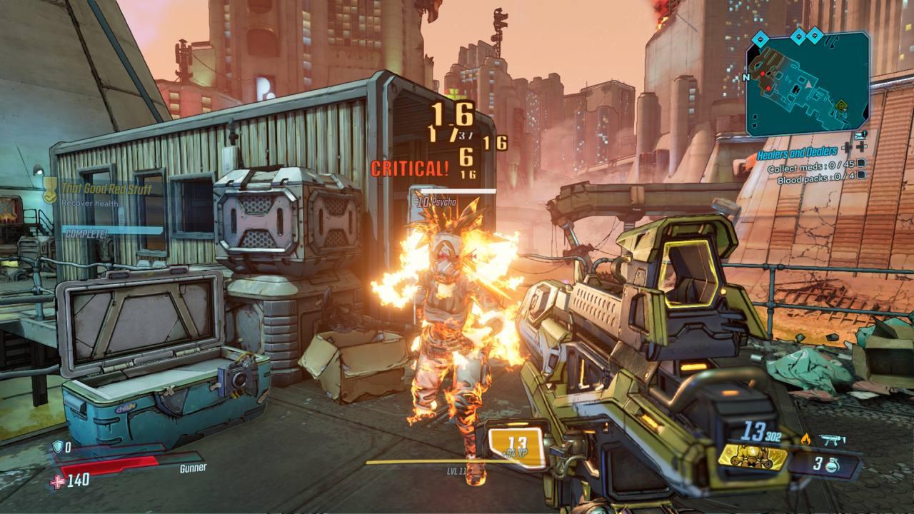 Borderlands 3 Killing a Psycho