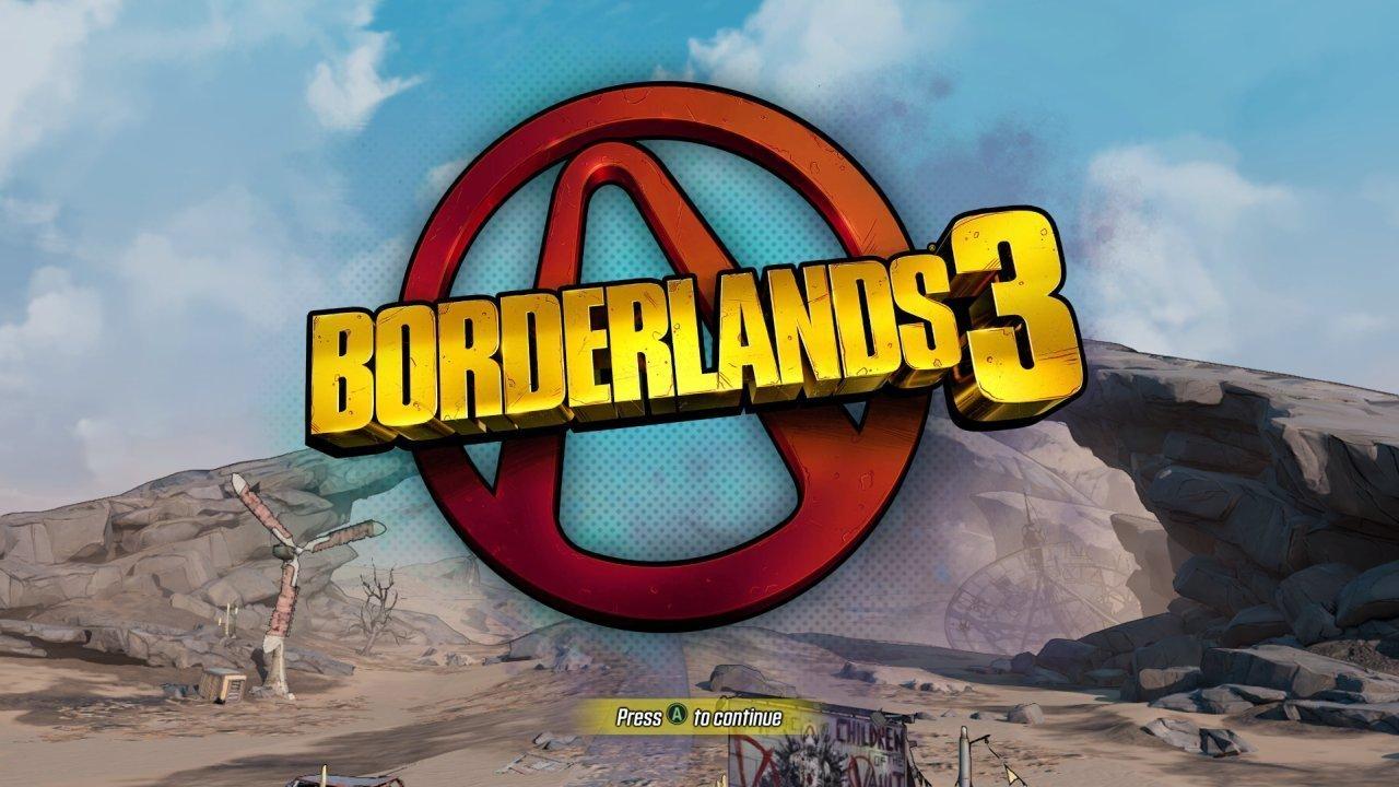 Borderlands 3 Title Screen