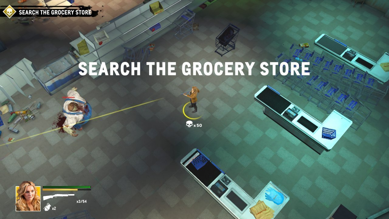Zombieland Grocery Store