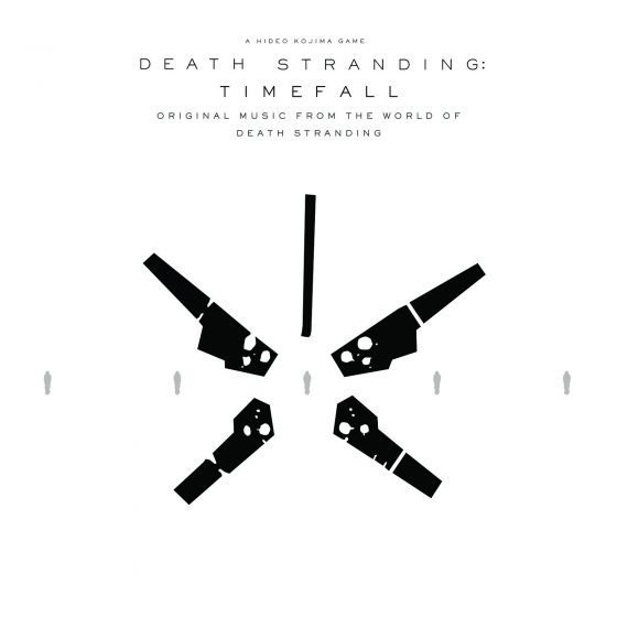 Timefall album cover for standalone album alongside Death Stranding