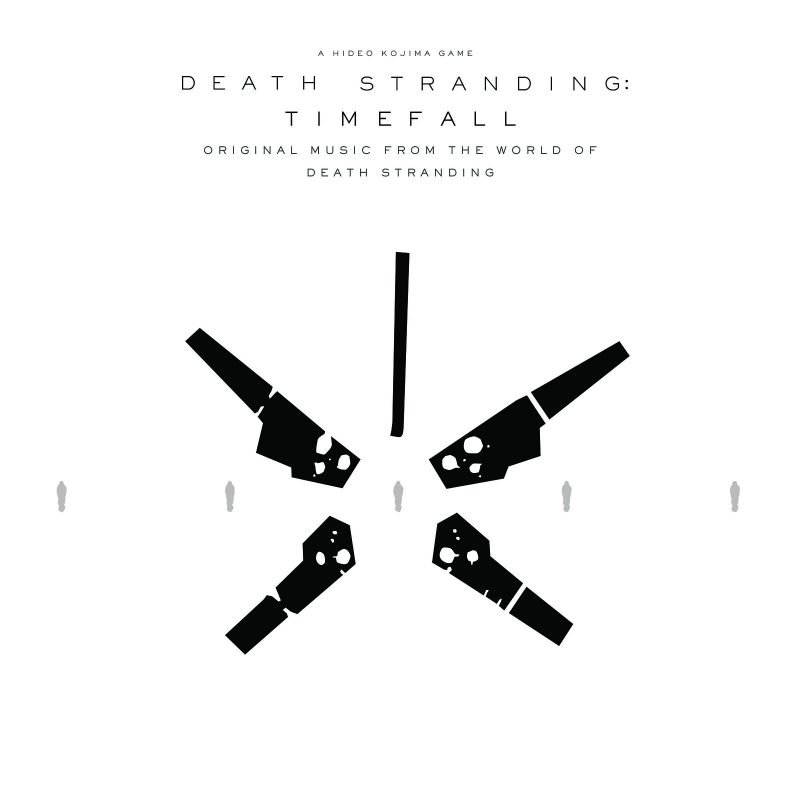 Timefall album cover for standalone album alongside Death Stranding