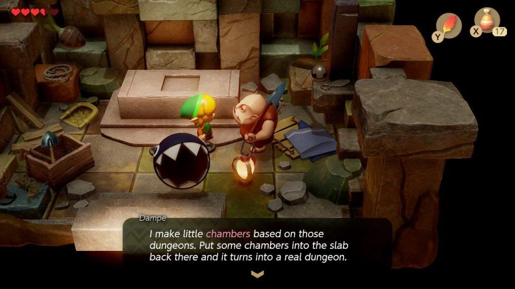 Dampe Chamber Dungeon