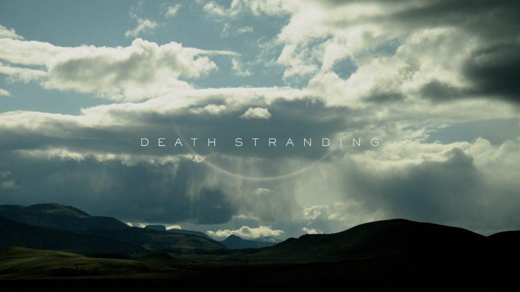 Death Stranding TItle