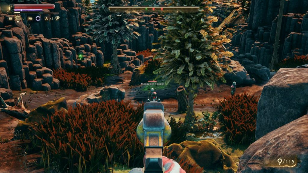 Outer Worlds Combat