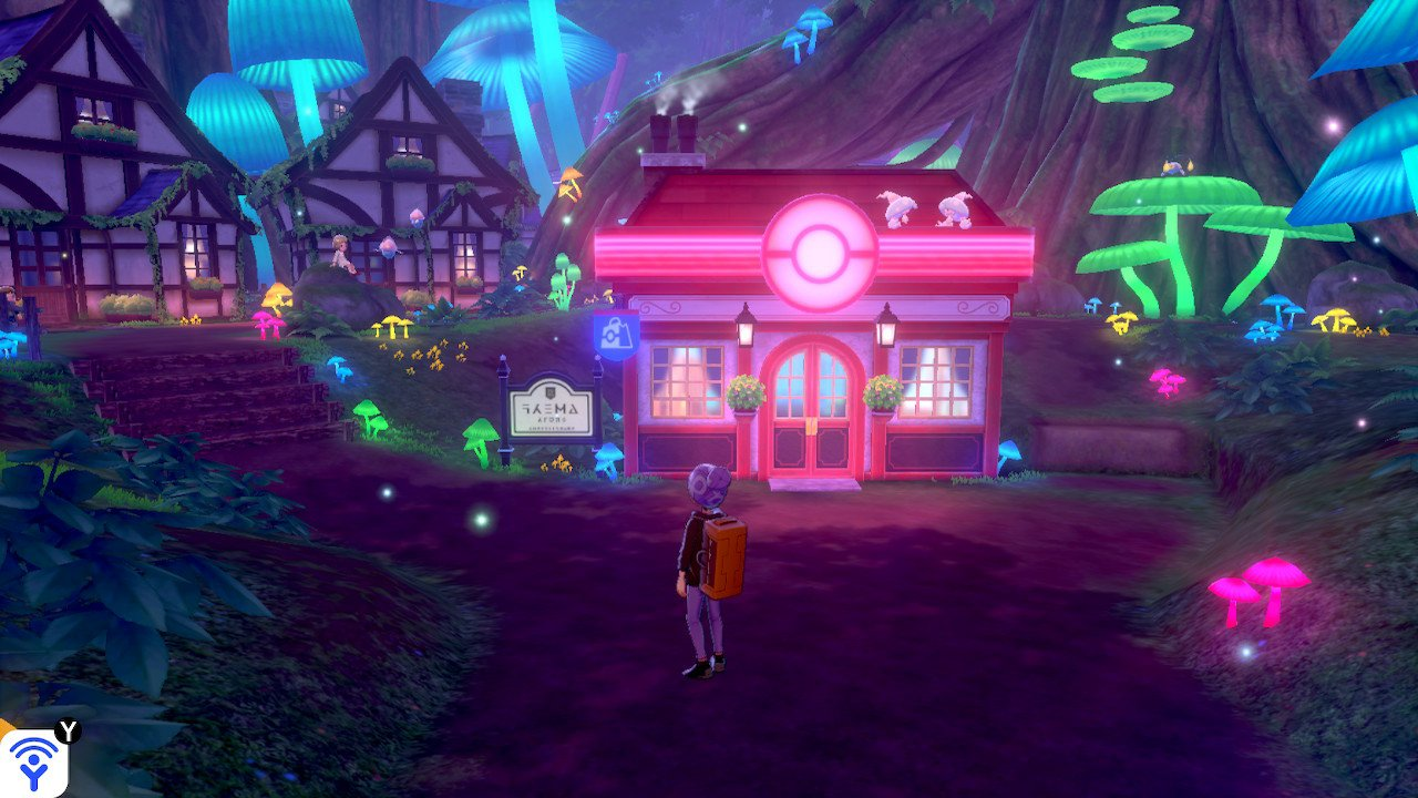 Fairy City in Pokemon Sword