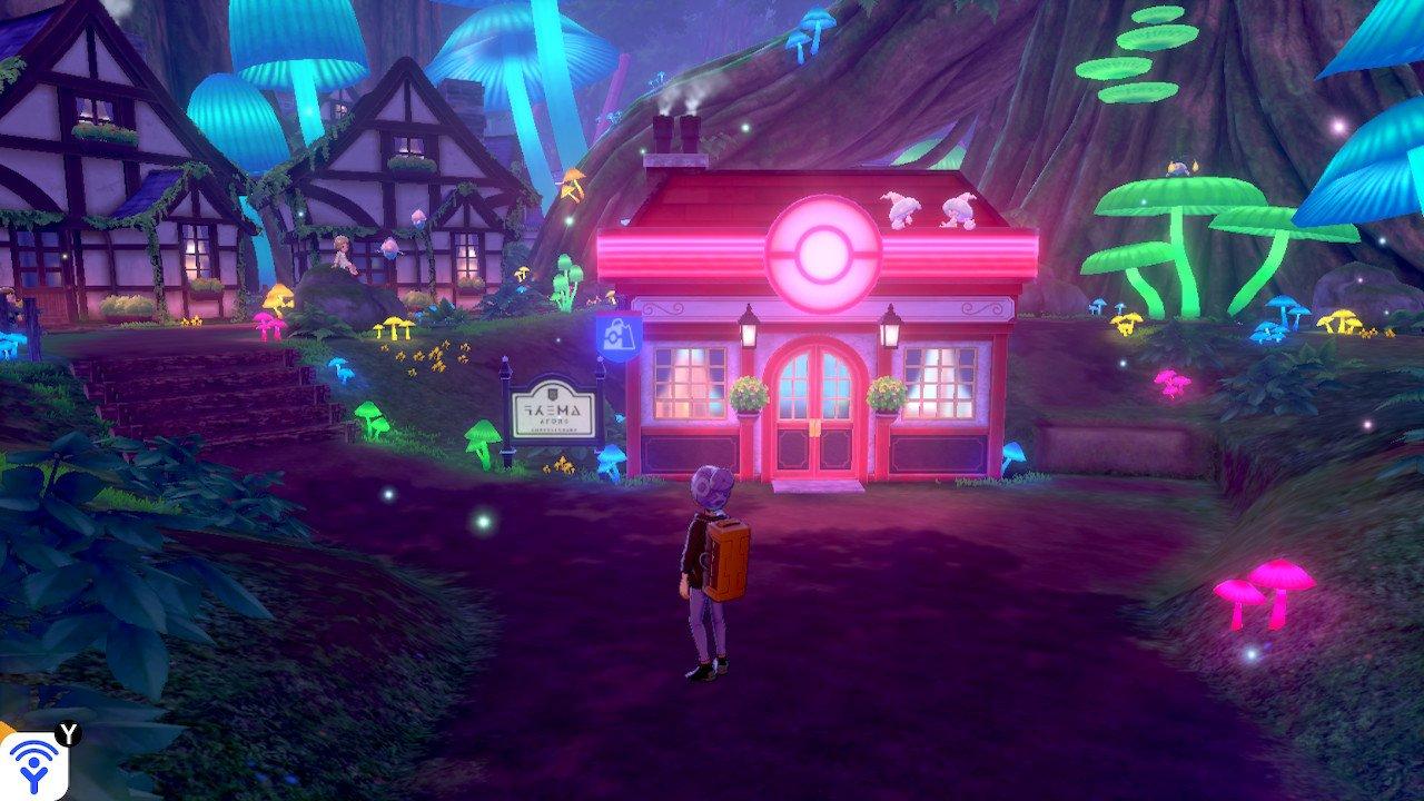 Fairy City in Pokemon Sword