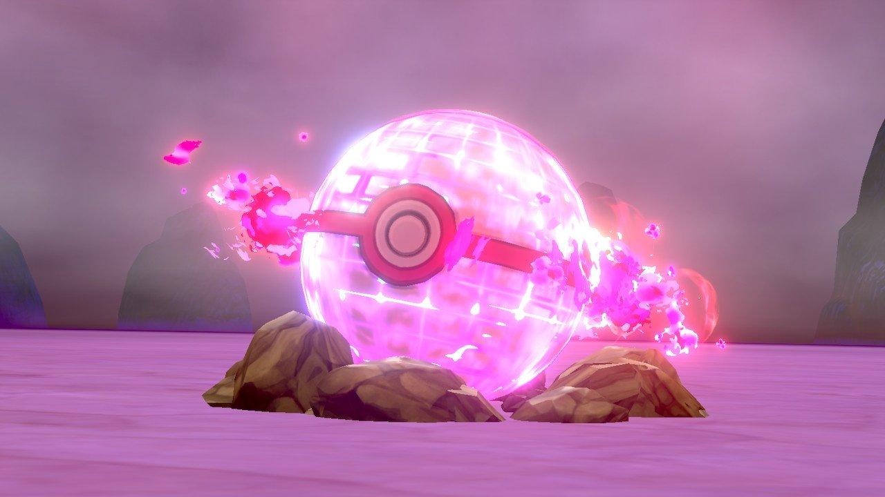 Catching a DynaMax Pokemon