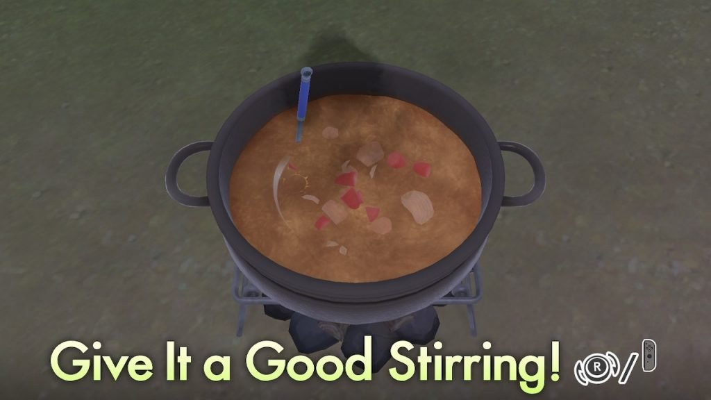Stirring Curry