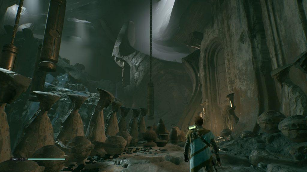 Exploring Tomb Jedi Fallen Order