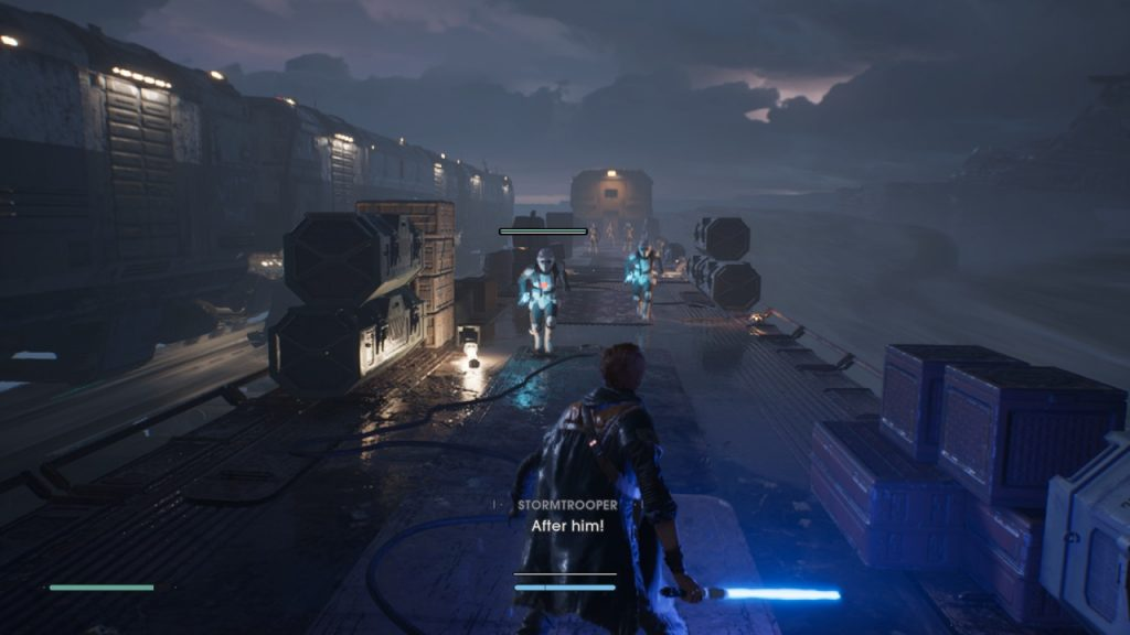 Combat in Jedi Fallen Order