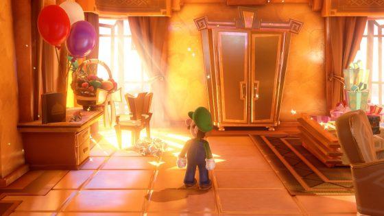 Gold Hotel Room Luigi's Mansion 3