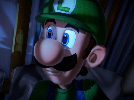 Luigi Close-Up