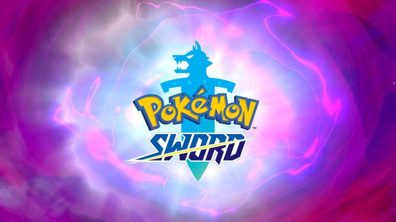 Pokemon Sword Title Screen