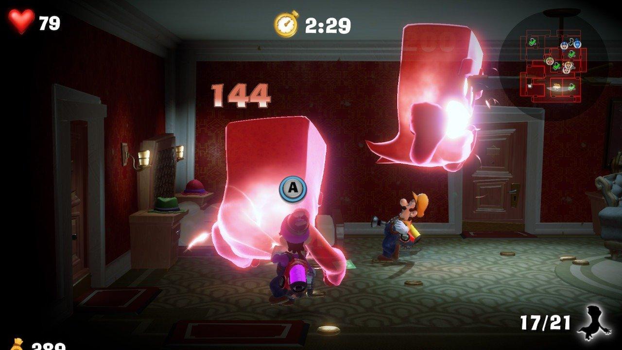 Luigi's Mansion 3 ScareScraper Gameplay