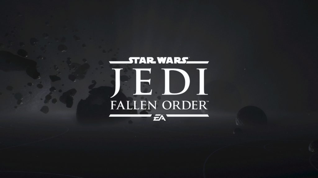 Star Wars Jedi Fallen Order Title Screen
