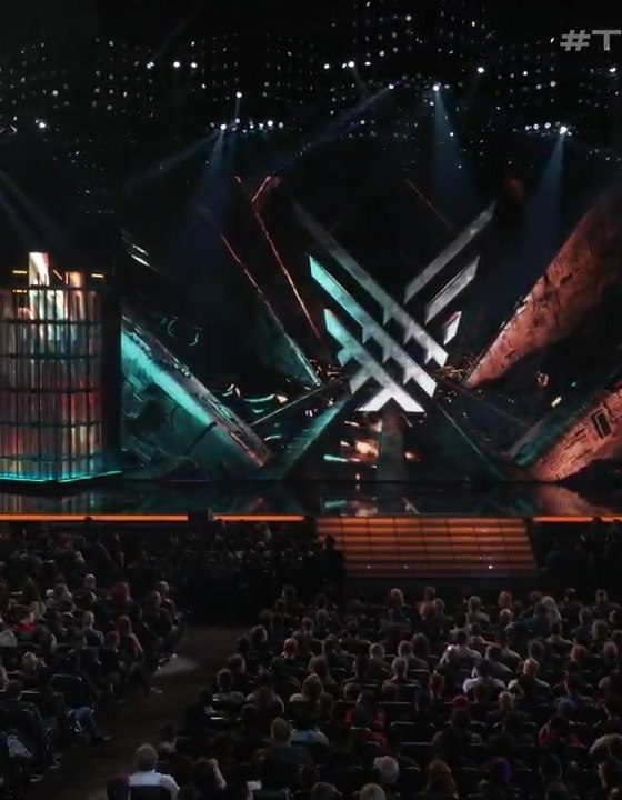 The crowd gathers at the Game Awards 2019