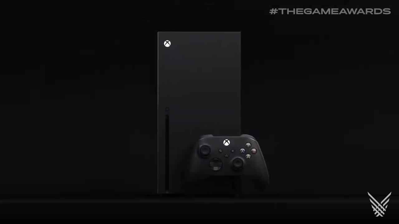 The Xbox Series X console