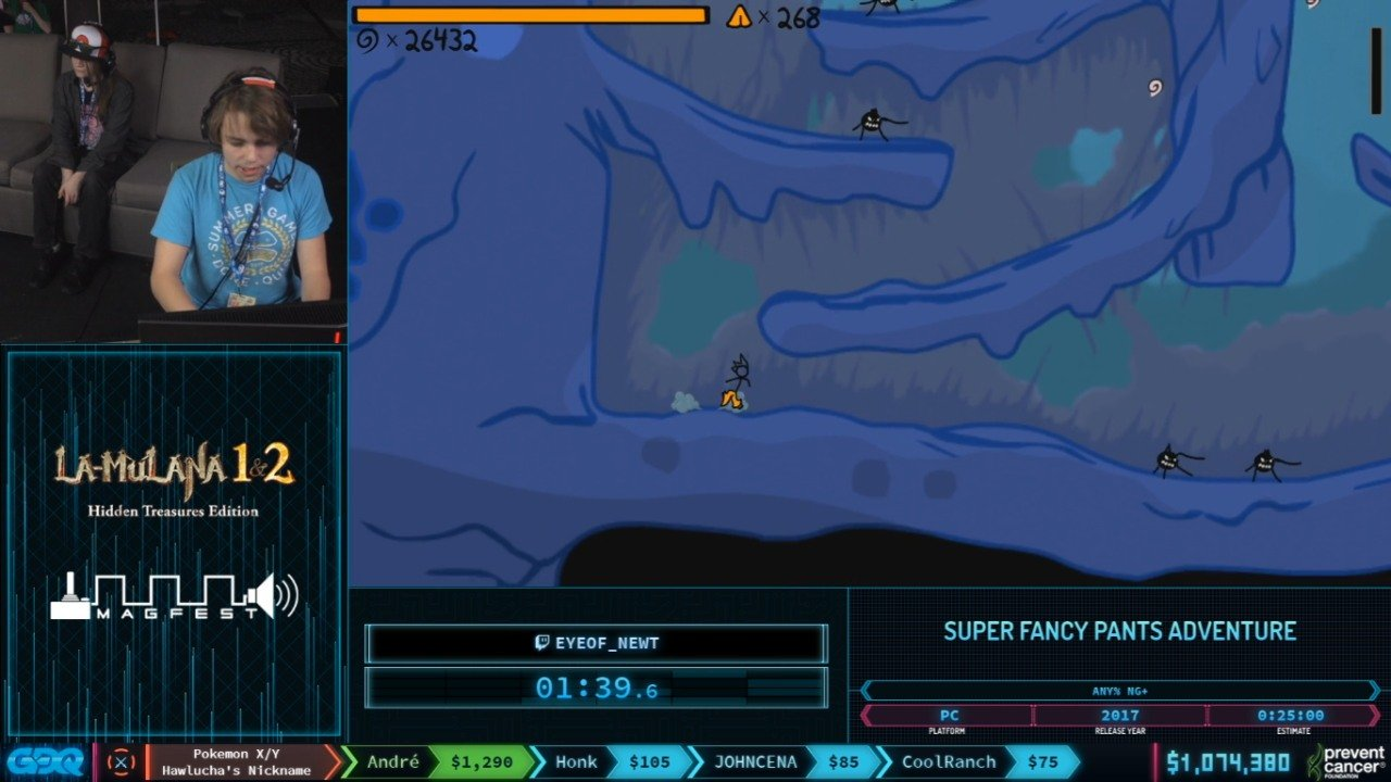 Fancy Pants Adventure at AGDQ 2020