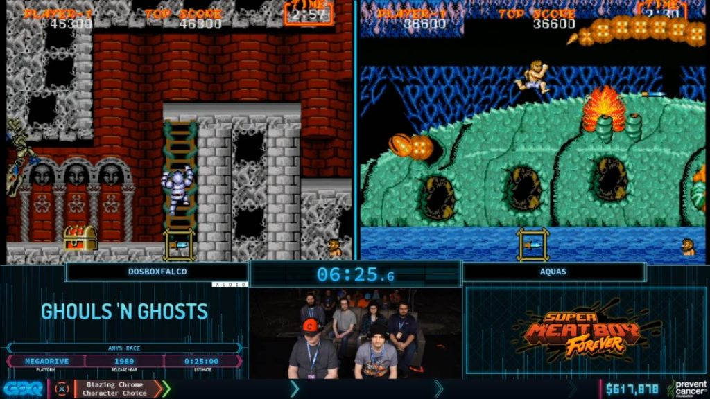 Ghouls and Ghosts at AGDQ 2020