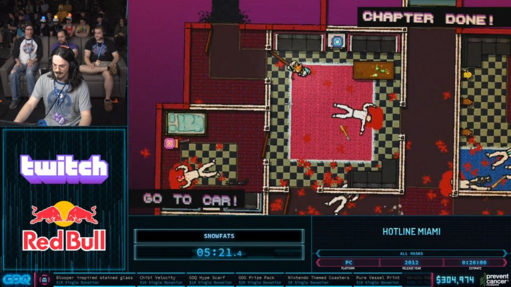 Hotline Miami at AGDQ 2020