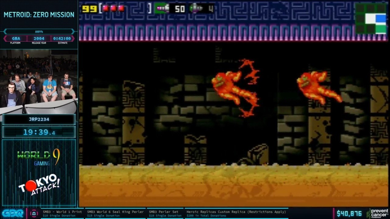Metroid Zero Mission at AGDQ 2020
