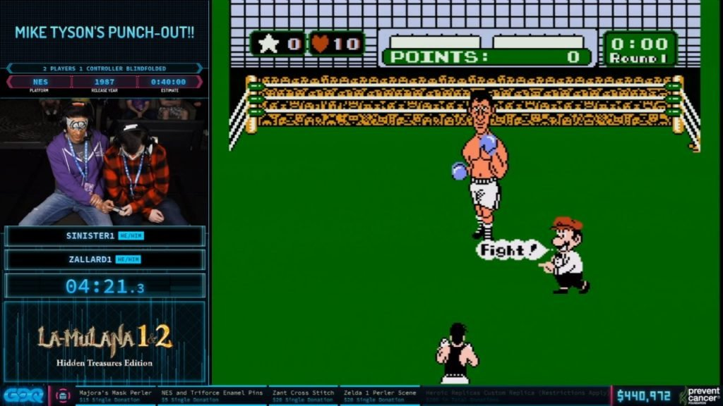 Blindfolded Punch-Out at AGDQ 2020