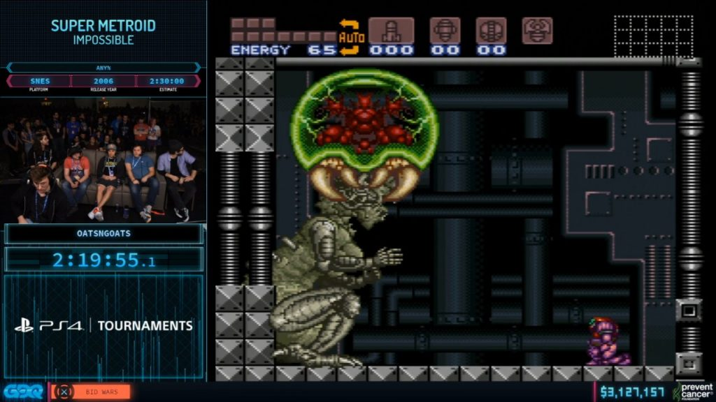 Super Metroid Impossible at AGDQ 2020