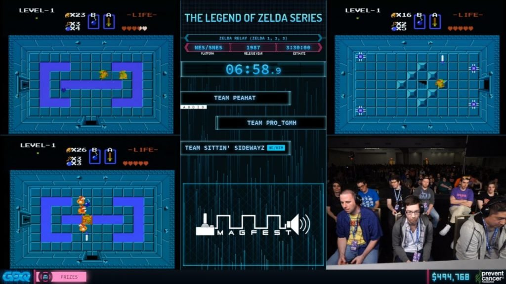Legend of Zelda Series Relay at AGDQ 2020