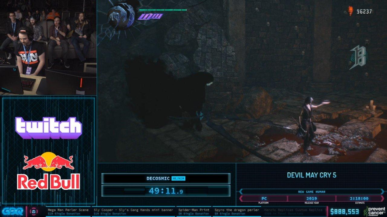 Devil May Cry 5 at AGDQ 2020